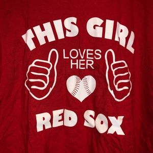 This Girl Loves Her Red Sox T-Shirt